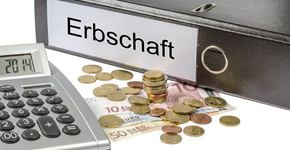 Erbschaft Binder Calculator and Currency