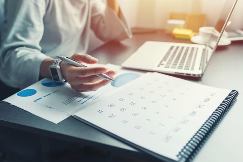 Kalender für Zeitplanung