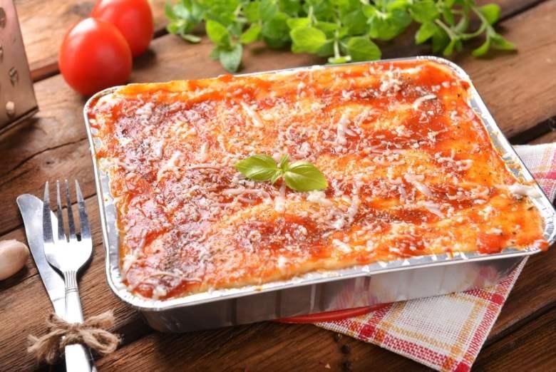 fertige Lasagne
