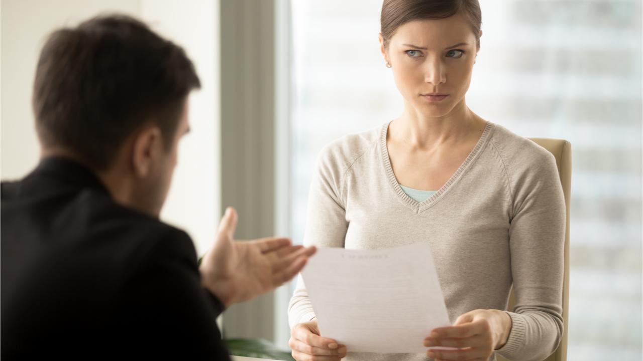 Es gibt einige Dinge, die man prinzipiell nicht im Bewerbungsgespräch ansprechen sollte.
