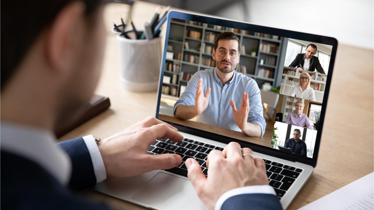Heutzutage werden viele Bewerbungsgespräche virtuell abgehalten.