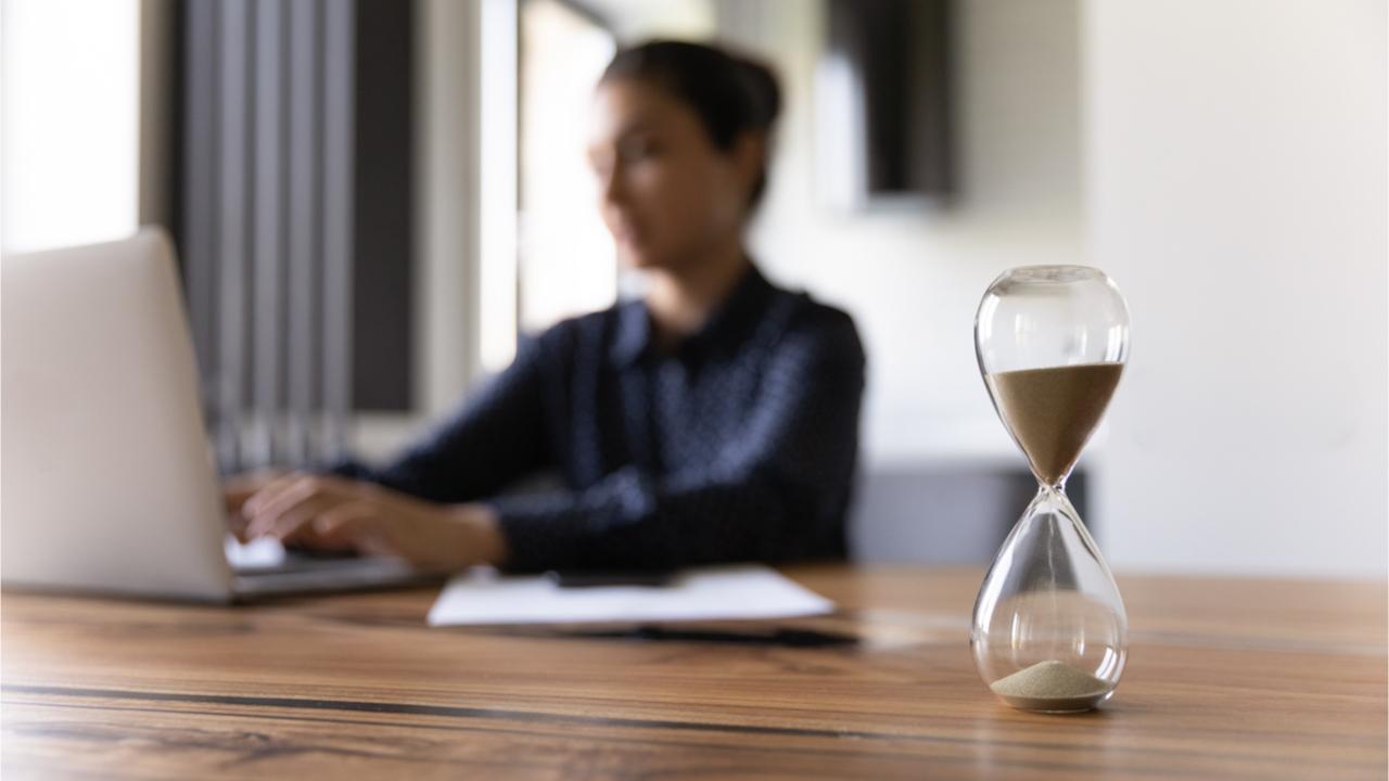 Deadlines werden bei einem guten Zeitmanagement nicht als stressig empfunden.