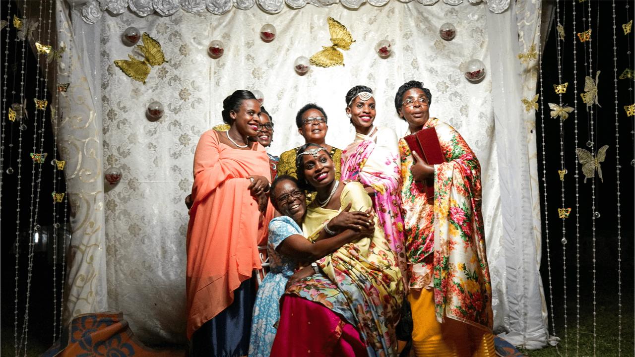 Hochzeitsbräuche in Afrika.