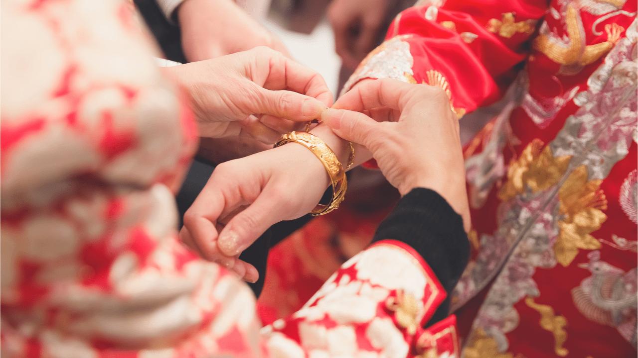Hochzeitsbräuche in China.