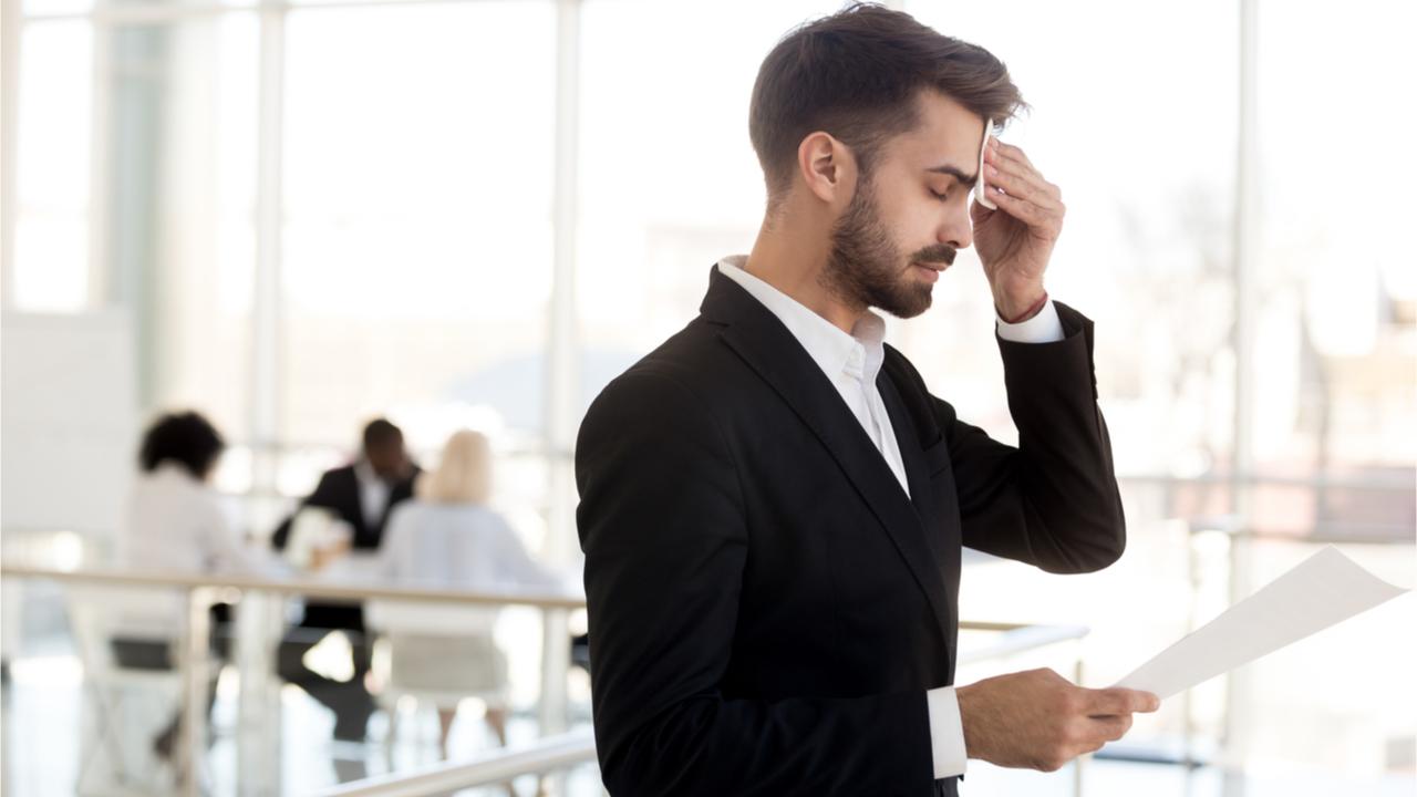 Leistungsdruck im Beruf kann zu psychischen Erkrankungen führen.