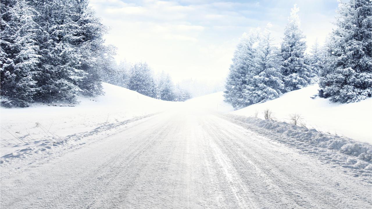 Durch das Glatteis im Winter, können schneller Unfälle passieren.